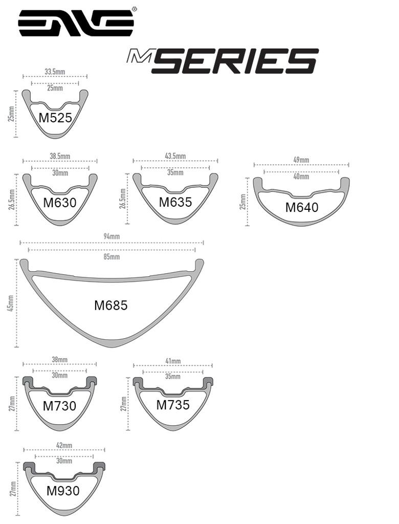 ENVE M6 Series MTB rims
