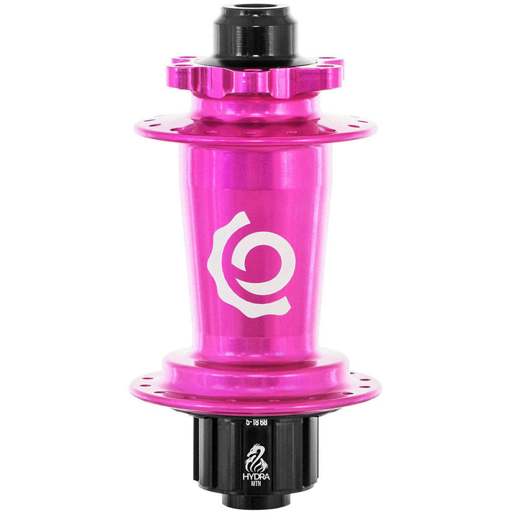 Industry Nine Hydra Classic Single Speed ISO Disc Rear Hub Pink