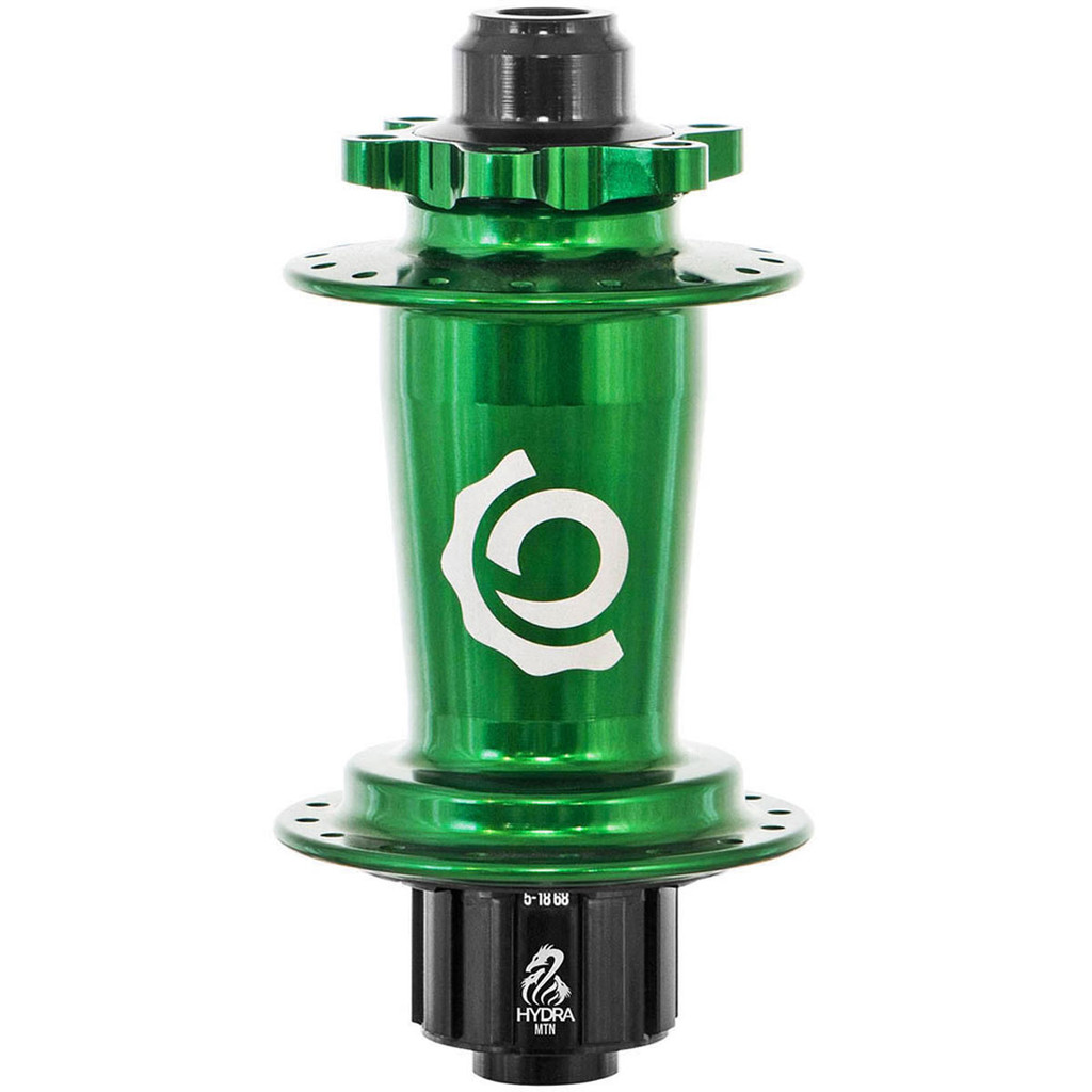 Industry Nine Hydra Classic Single Speed ISO Disc Rear Hub Green