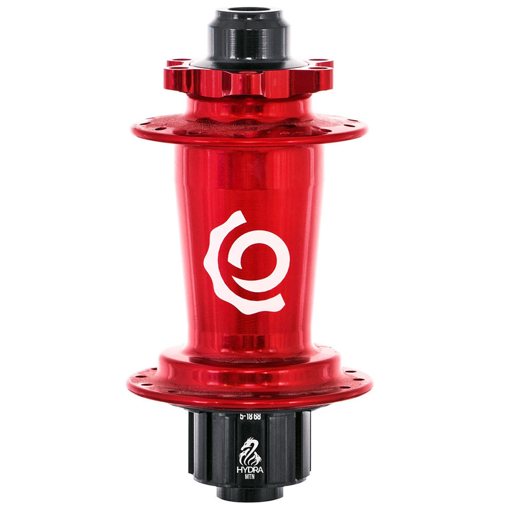 Industry Nine Hydra Classic Single Speed ISO Disc Rear Hub Red