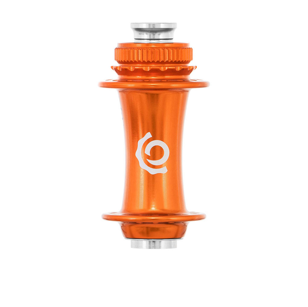 Industry Nine Front Road Center Lock Hub Orange
