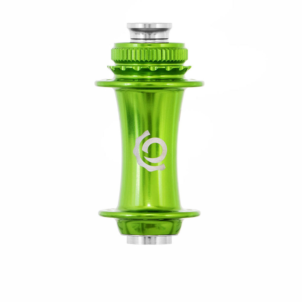 Industry Nine Front Road Center Lock Hub Lime, Sour Apple, Light Green, Antifreeze
