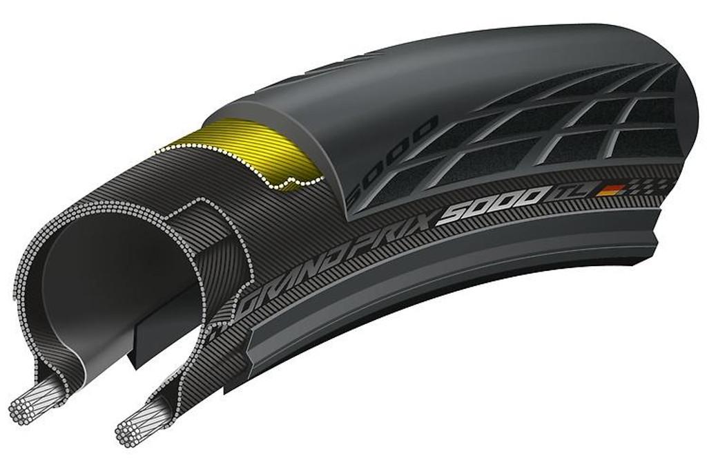 Continental Grand Prix 5000 TL tubeless Clincher Tire