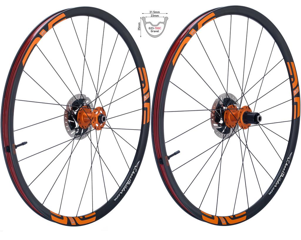Custom Enve Road-Gravel-CX Disc Brake Wheels