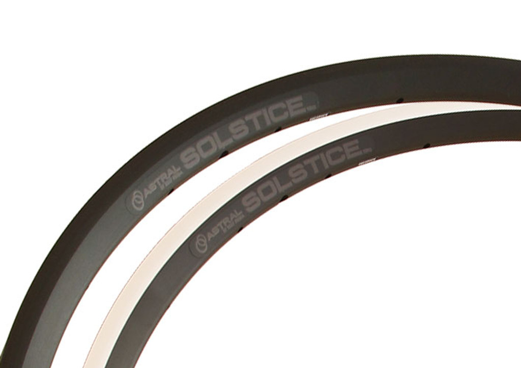 Astral Solstice Rim and Disc brake rims composite