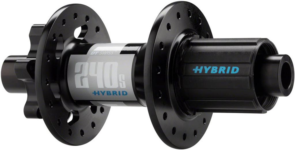 240S Hybrid Boost Rear ISO Disc Hub