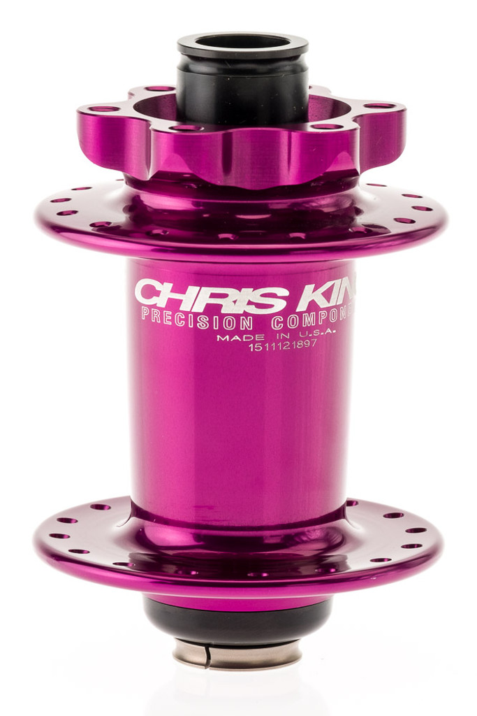 Chris King ISO SD Limited Front Purple 32H