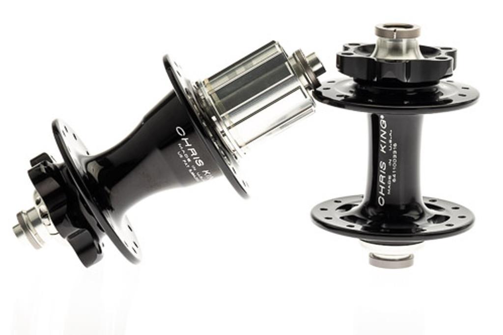 Chris King R45 ISO 6-Bolt Hub Set 32H/32H Black
