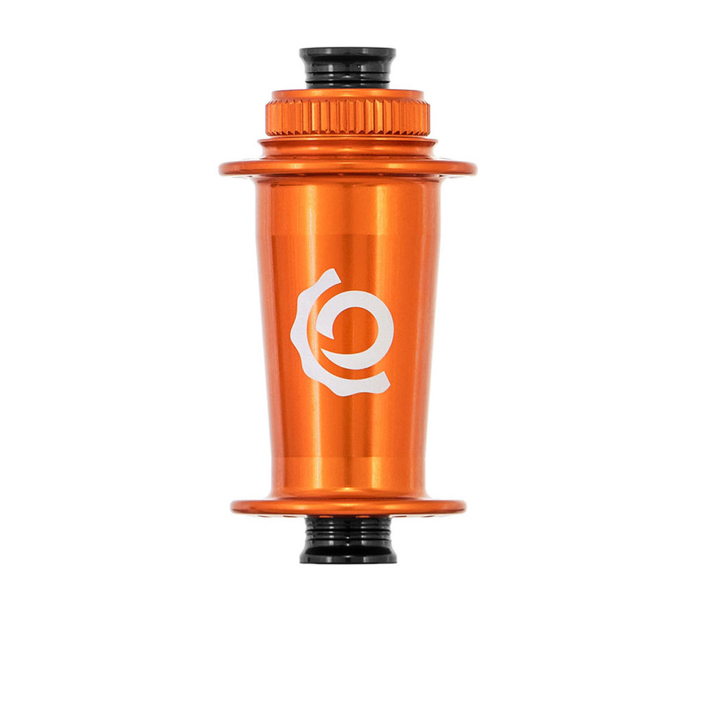 Industry Nine Front MTB Center Lock Hub Orange, Mango