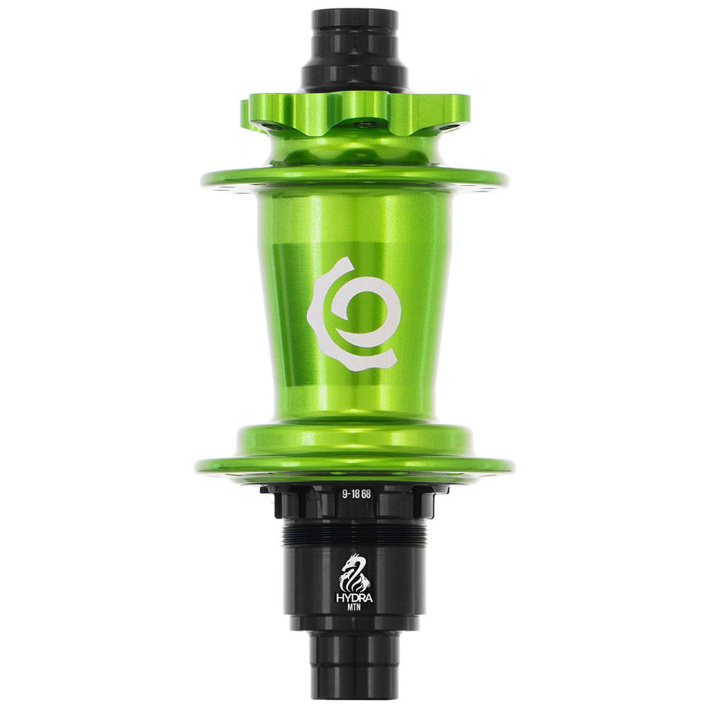 Industry Nine Hydra Classic Rear ISO Disc Hub Lime, Antifreeze,Sour Apple, Light Green