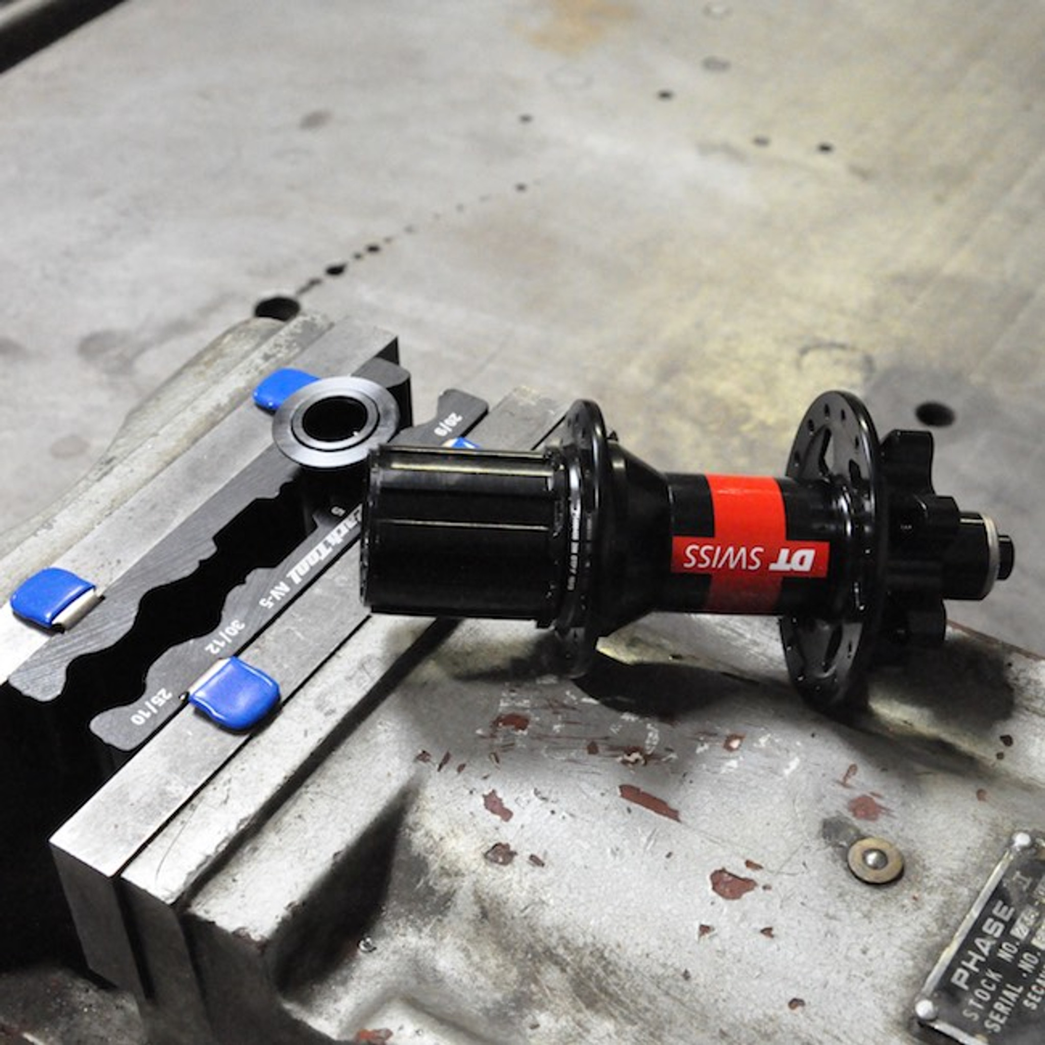 Park Tool AV-5 Axle//Spindle Vise Inserts