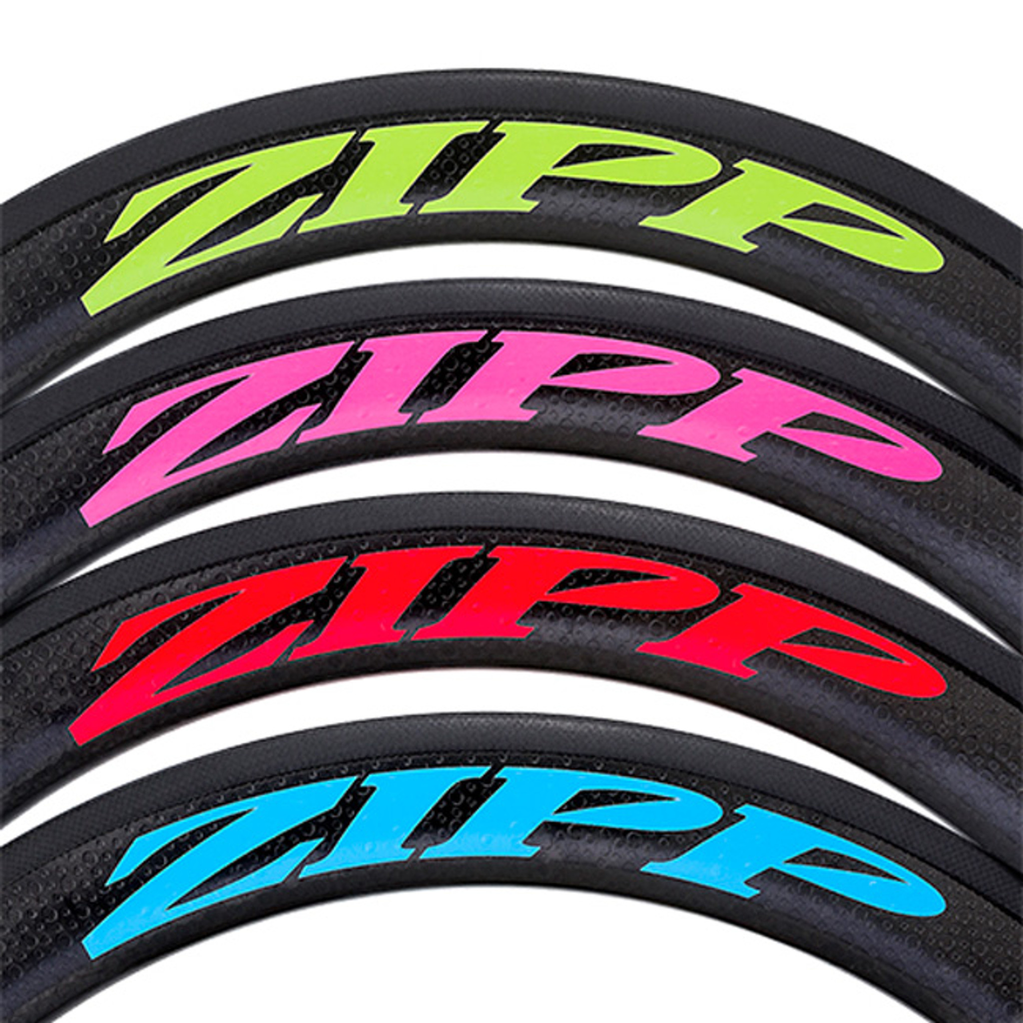 Set Of 16 Bicycle Cycling Sticker Decal ZIPP