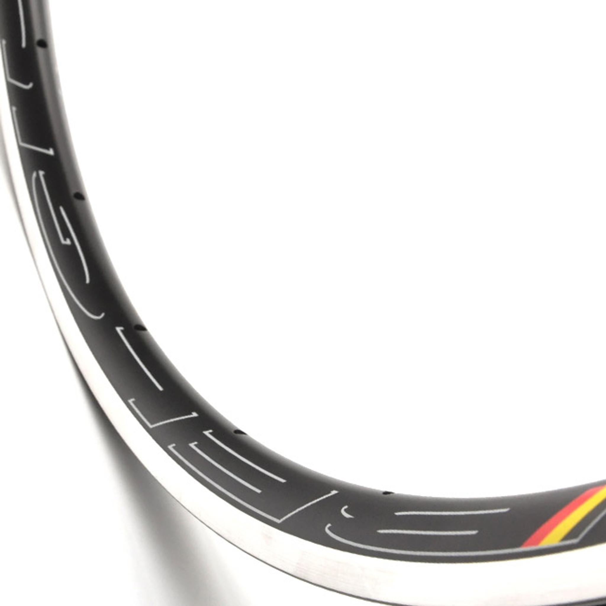 HED Belgium C2 700c Tubular Rim 32h Black