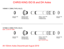 Chris King Rear ISO B and DH Axles