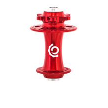 Industry Nine Road/CX Disc brake ISO front hub red