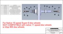 Zipp Track Disc Axle Conversion Kit
