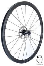 FSE EVO 35CTD front wheel with Hope RS4 road disc hub