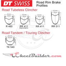Custom DT Swiss Road Rim Brake Wheels