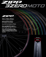 Custom Zipp MTB Wheels
