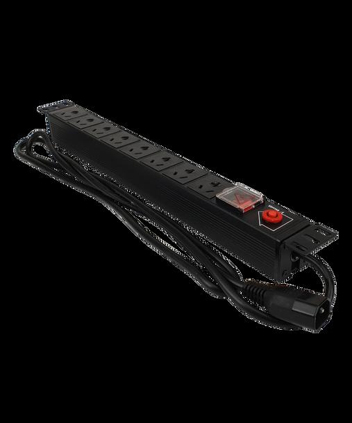 8-Port Power Board 19 Rack Mount C14 Plug - C1088-014
