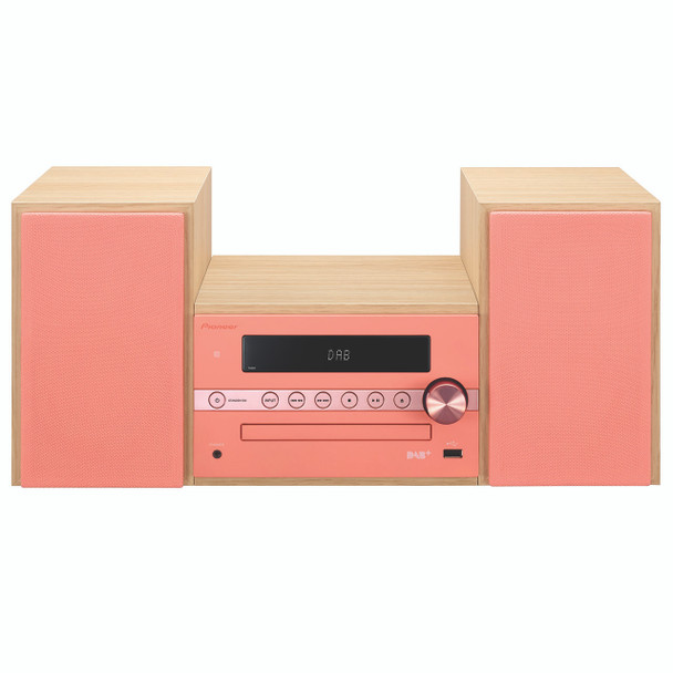 Pioneer Micro Sound System DAB+ Red/Pink - CM56DR