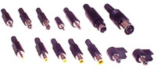 EIAJ-02 Retro-Fit O/P Plug 10X4.00X1.7 Yel Tip/Blk Shell - K3702