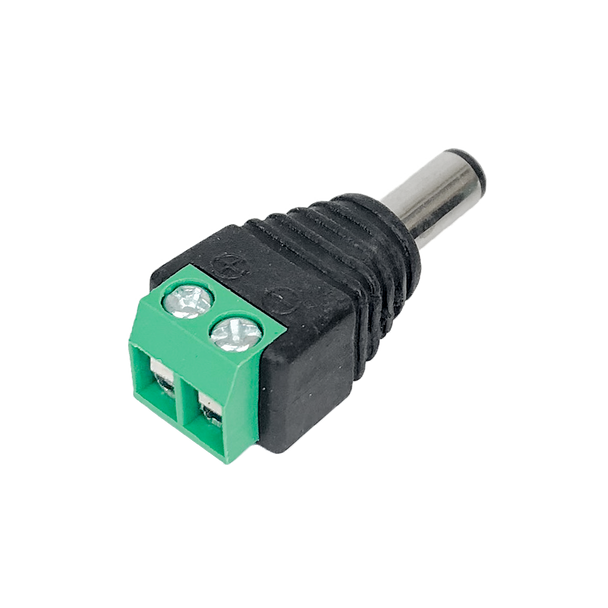 Male DC Plug 2.1mm Screw Terminals - K3706-M21