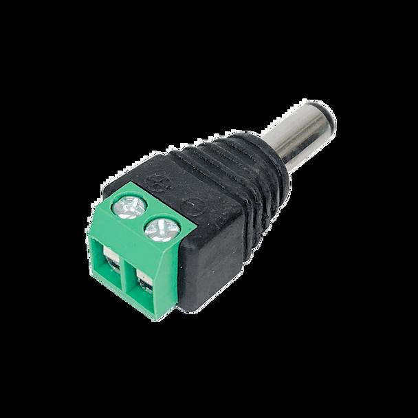 Male DC Plug 2.1mm Screw Terminals - K3706-M21