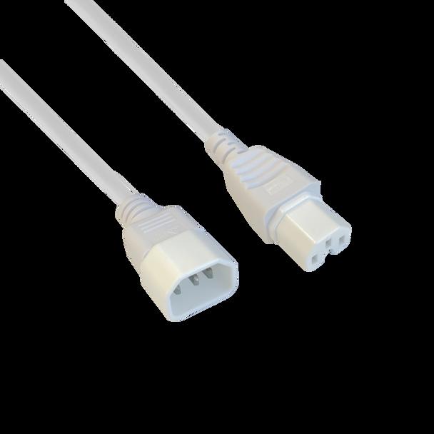 IEC-C14 To C15 1.5m Whi - K3742-016