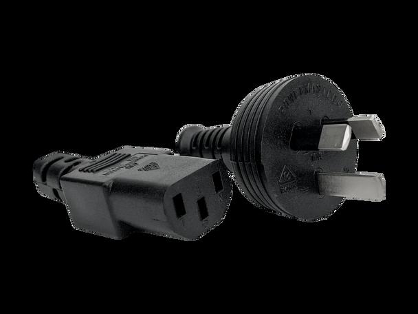 IEC-C13/Mains 0.5m Blk - K3746
