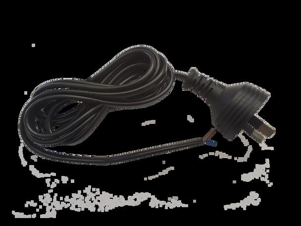 Appliance Cord 2C 2m 2-Pin Plug To Blunt Cut - K3762CUT