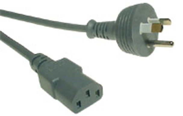 Power Cord 2m 3C 0.75mm' Blk Round Earth Blk To C13 - K3788-002
