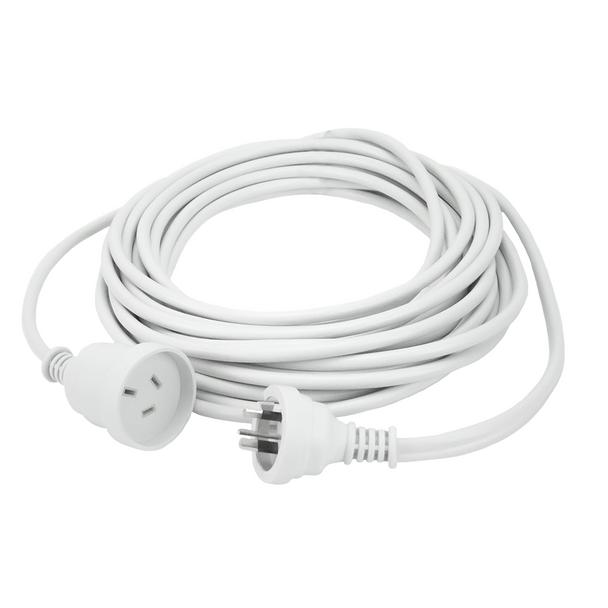 3m Extn Cord White Powermaster Retail Polybag - K4003