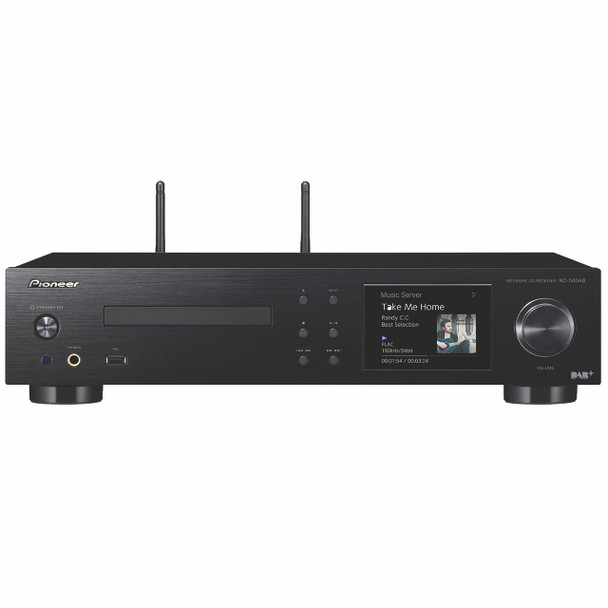 Pioneer HD Network/CD/DAB+ Amplifier 2ch 50W+50W - NC50DAB