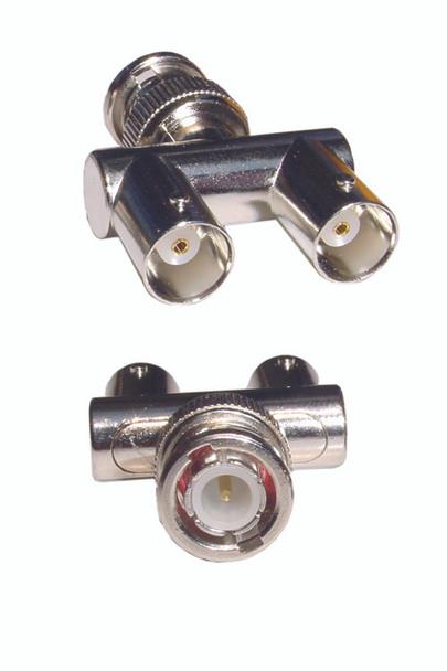 BNC-M Double BNC-F 180Deg Y-Type - P0708