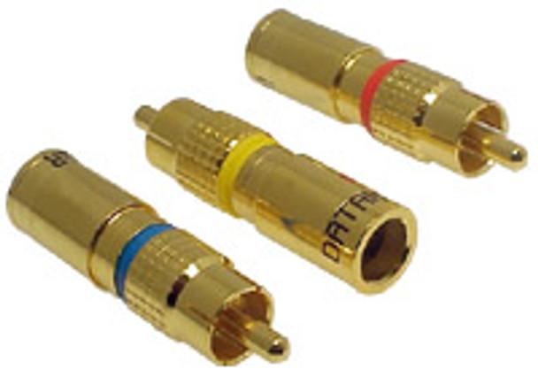 RCA RG6 Quad Compression - P0726BLU
