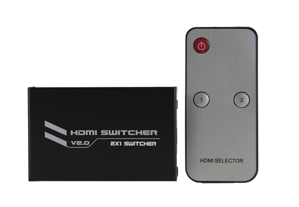 HDMI 4K2K Switch 2 In 1 Out Switcher 4K@60Hz - P07712