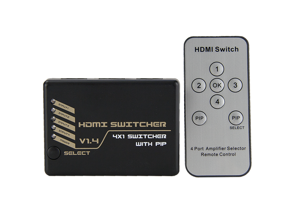 HDMI Switcher 4 in 1 out