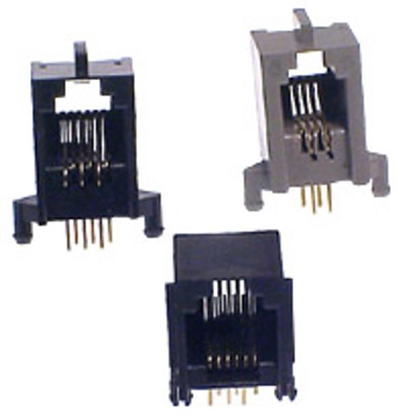 6P6C Skt PCB Blk - P1341