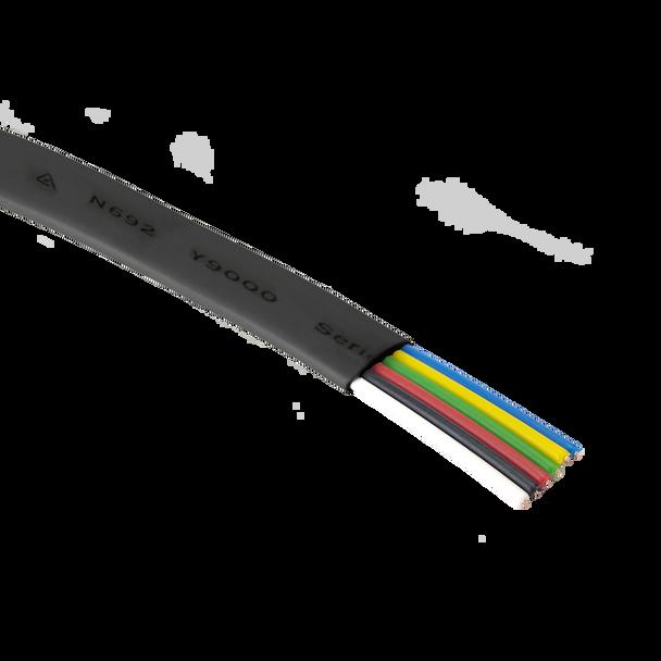 Cord Flt 6C 100m Blk - Y9311