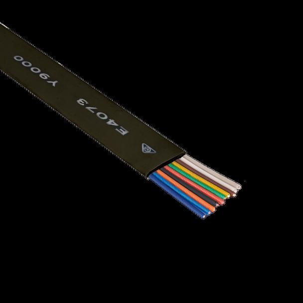 Cord Flt 10C 200m Blk - Y9510