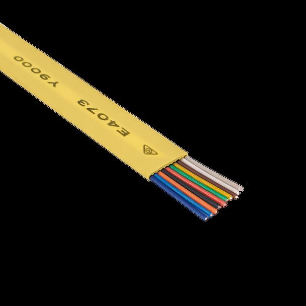 Cord Flt 10C 250m Ylw - Y9515
