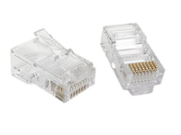 8P8C Rnd/Str (10-Pack) - P2060