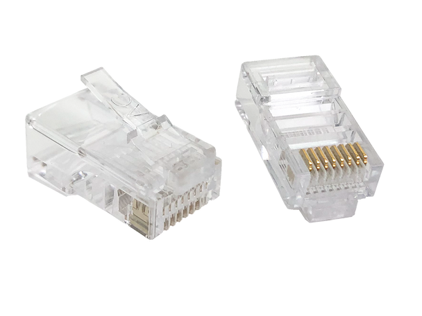 8P8C Rnd/Str (50-Pack) - P2062