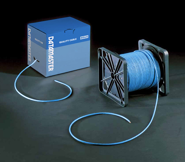 Cat6 Solid Cable; UTP Cable 305m Reel In Box: Blue