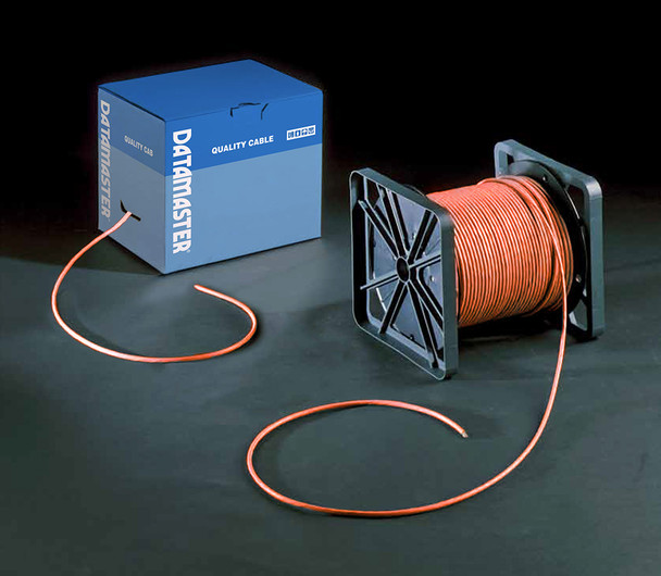Cat6 Solid Cable; UTP Cable 305m Reel In Box: Orange