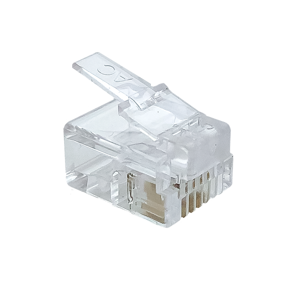 6P4C Rnd/Sol (100-Pack) - P2138-100