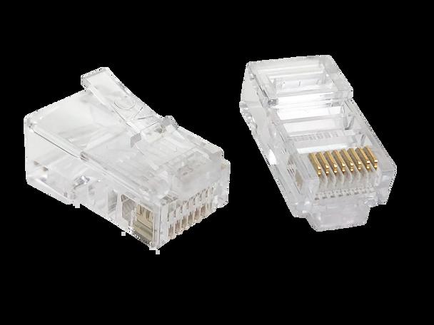 8P8C Plug Keyed Flat/Stranded - P2166