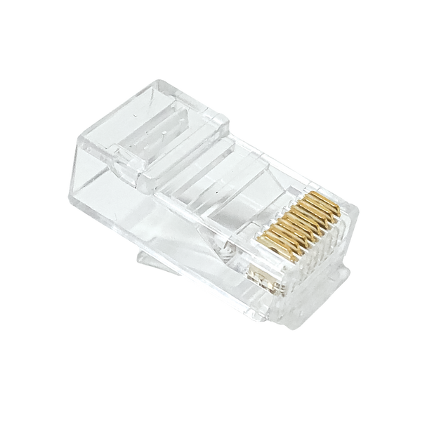 Cat 6 Sol/Str 8P8C 2-Row 2-Pcs 100-Pack - P2176-100