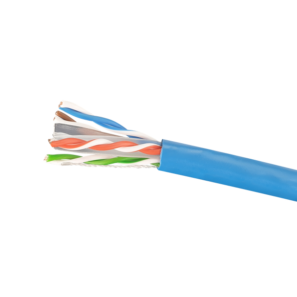 Cat6 Stranded Cable; UTP Cable 305m Pull Box: Blue